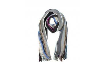 Bright Stripe Lamora Men's Scarf