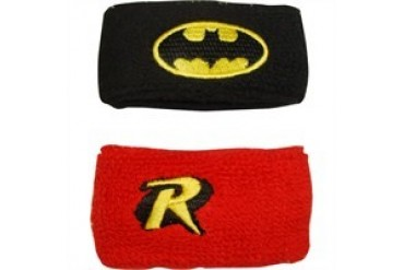 DC Comics Batman Robin Combo Wristband Set