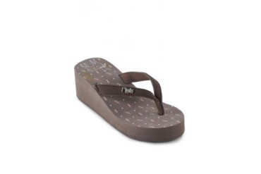 Ripples Deer Flip Flop Wedges