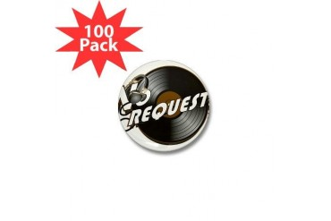 Music Mini Button 100 pack by CafePress