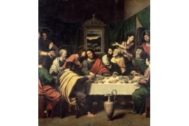 The Last Supper, Vicente Macip I (15th C. Spanish) Poster Print (24 x 36)