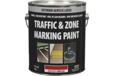Z90R00813-16 Latex Traffic And Zone Marking Traffic Paint Curb Red