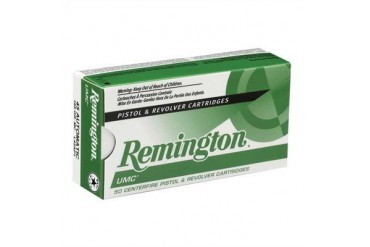 Remington Umc Handgun Ammunition - Umc Handgun Ammo 9mm Luger 115gr Fmj 50/Box