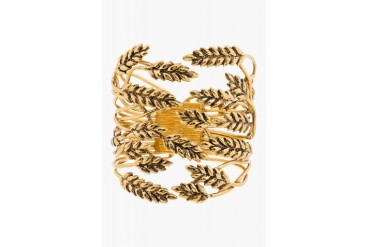 Aurlie Bidermann Gold Wheat Cuff