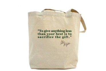 GO PRE The Gift Sports Tote Bag by CafePress