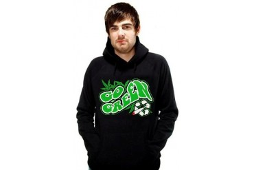 Pot Head & Stoner Sweatshirt - Go Green Hoodie