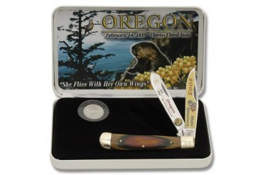 Frost Cutlery Oregon State Quarter & Trapper Collector Set
