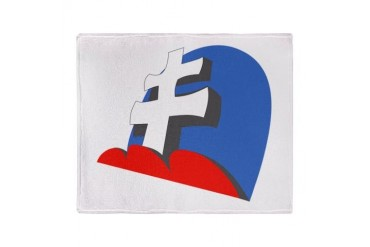 13 JG52 Slovakian Stadium Blanket Air force Throw Blanket by CafePress