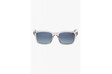 Oliver Peoples Grey And Blue Wyler Sunglasses
