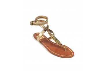 Dv by Dolce Vita 'Adryna' T-Strap Sandals Gold, 8.5