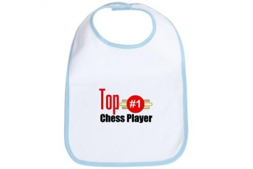 Top Chess Player Occupations Bib by CafePress
