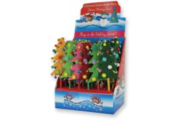 Ddi Christmas Grove Tree Pens (pack Of 72)