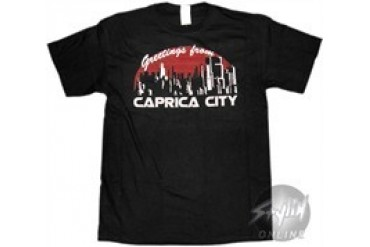 Battlestar Galactica Welcome To Caprica City T-Shirt