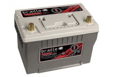 Braille Lithium Ion Intensity Starting Battery 2330 Amp 11 x 7 x 8 inch Left Positive BCI 34