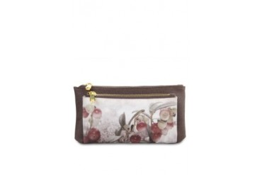 Tomio Brown Lingonberry Wallets