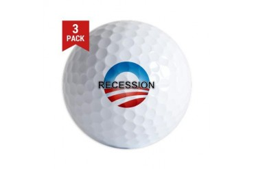 Nobama 2012 Obama Golf Balls by CafePress