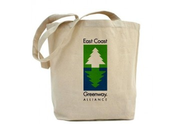 East Coast Greenway Coast Tote Bag by CafePress