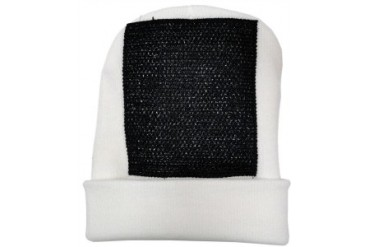 Head Spin Beanies - BBOY Headspin Break Dance Beanie (White/ Black)