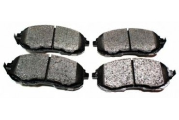 2001 Infiniti I30 Brake Pad Set Akebono Infiniti Brake Pad Set ACT815 01