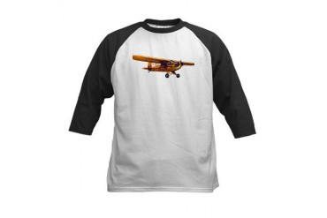 Lone Cub Aviation Kids Baseball Jersey by CafePress