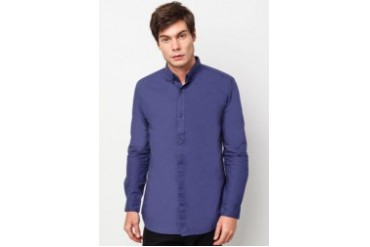 Solid Long Sleeve Shirt