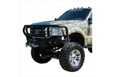 Road Armor Front Stealth Winch Bumper with Titan II Guard in Satin Black 60502B Front Bumpers