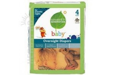 Baby Overnight Diapers Stage 4 24 CT(case of 4)