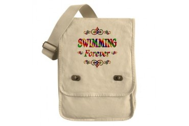 Swimming Forever Sports Field Bag by CafePress