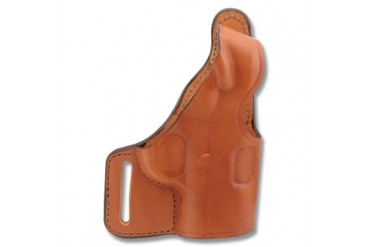 "Bianchi Model 75 Venom Belt Slide Holster - Colt 1911A1 .45ACP - 5""BBL - Tan - Right Hand"