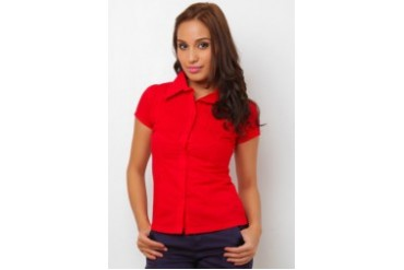 F 101 Merlinda Short Sleeve Blouse