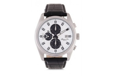 Kenneth Cole Mens IKC8041 Silver/Black Watch