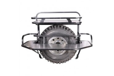PUREJEEP Small Basket/U-Platform Cargo Package JC5-P Rear Bumpers