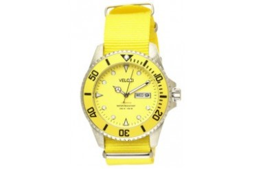 Yellow Voyager Collection 42mm Watch