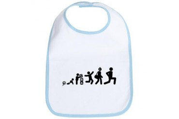 Stretching Sports Bib by CafePress