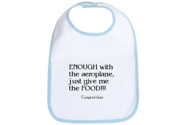 Aeroplane Kids Bib by CafePress