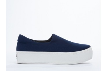 Opening Ceremony Slip On Platform Sneaker in Navy size 9.0