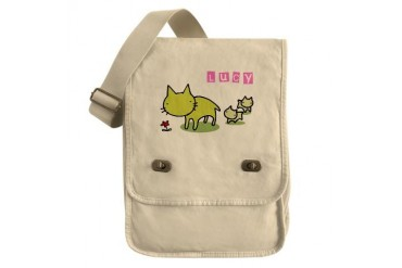 Lucy Cute Field Bag by CafePress