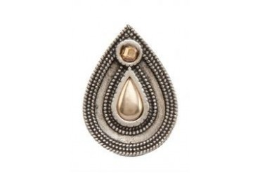 House Of Harlow 1960 Teardrop Granulation Ring