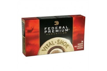 Federal Premium Vitalshok Nosler Partition Rifle Ammunition - Federal Ammo 308 Win 180gr Nsl Part 20/Bx