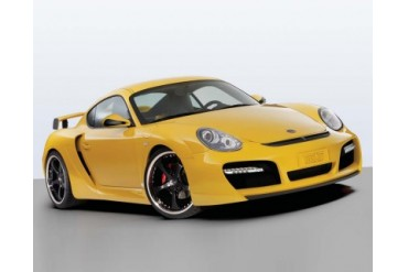 TechArt Wide Body Kit with Chrome Running Lights Porsche Cayman with OE DRL 06-13