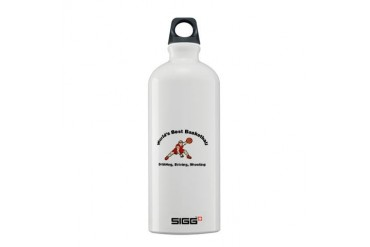 Worlds Best Basketball Cool Sigg Water Bottle 0.6L by CafePress