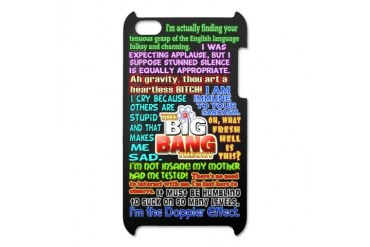 Sheldon Cooper Quotes iPod Touch 4 Case