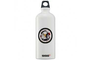 US Military Hall of Fame Military Sigg Water Bottle 1.0L by CafePress