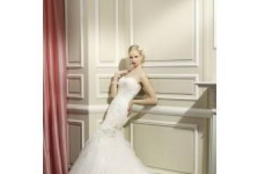 "Moonlight Collection ""In Stock"" Wedding Dress - Style J6326"