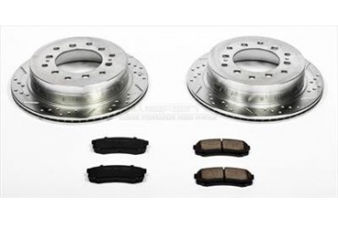 Power Stop Performance Brake Upgrade Kit K2405 Replacement Brake Pad and Rotor Kit