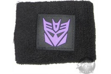 Transformers Decepticon Rubber Patch Wristbands