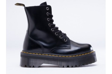 Dr. Martens Jadon Womens in Black Polished size 11.0