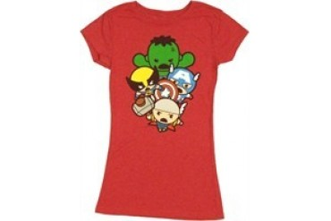 Marvel Comics Avengers Toys Quad Group Jack of All Trades Baby Doll Tee