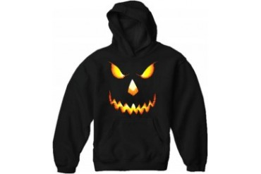 Mean Pumpkin Head Halloween Hoodie