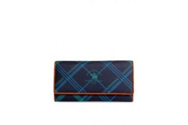 Santa Barbara Polo & Racquet Club Large Trinity Leather Wallet